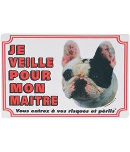 Waakbord fr - buldogue francais