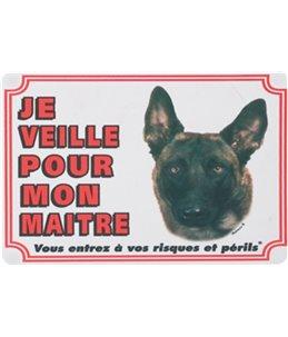 Waakbord fr - malinois